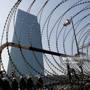 ECB : Όμορφος κόσμος ηθικός, αγγελικά πλασμένος. Το Blockupy στα εγκαίνια του νέου φαραωνικού κτηρίου της ΕΚΤ.