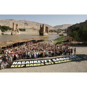 ΣΑΔΑΣ-ΠΕΑ, ΨΗΦΙΣΜΑ  για το φράγμα του Ιλίσου στον Τίγρη ποταμό, στην περιοχή του Βόρειου  Κουρδιστάν